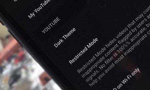 Черная тема в мобильном YouTube для iPhone и iPad – как включить