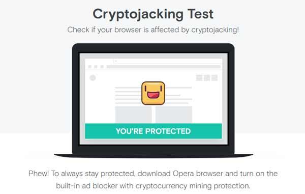 Криптоджекинг - узнайте, защищен ли браузер вашего компа или смартфона