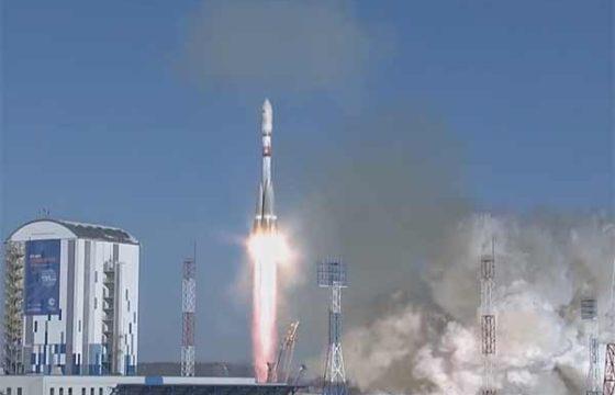 Союз-2.1а успешно вывел на орбиты все 9 иностранных КА [видео]