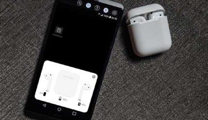 Как посмотреть уровень заряда AirPods на Android-смартфоне
