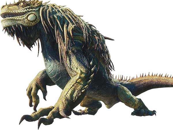 Monster Hunter World - прохождение - монстр Большой Яграс