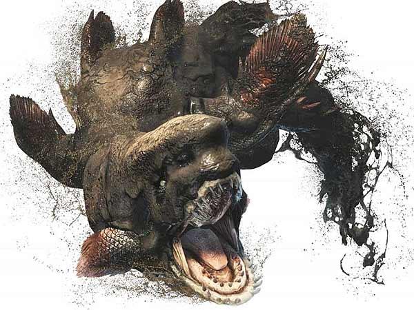 Monster Hunter World - прохождение - монстр Юратод