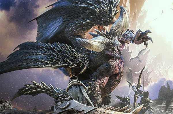 Monster Hunter World - монстры - Нергигант - прохождение