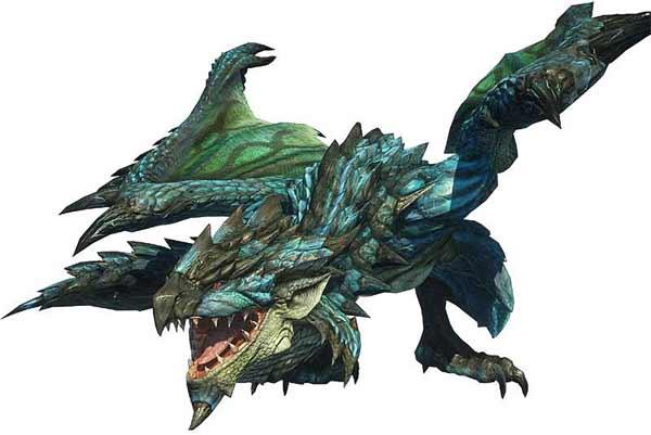 #MonsterHunterWorld - монстр Аньянат - как победить Azure Rathalos