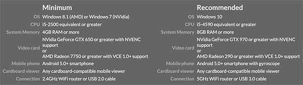 VRChat на Windows-компьютере с гарнитурой Gear VR: как настроить - #VRChat