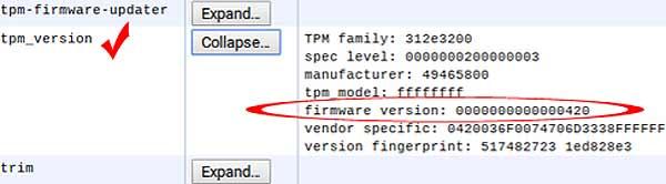 Модуль TPM в Chromebook или Chromebox: как обновлять прошивку - #chromebook