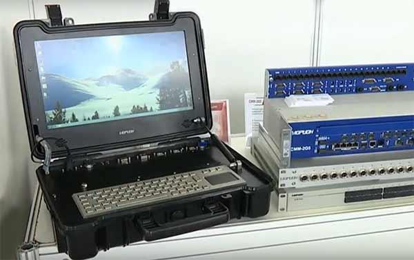 Российская компания показала защищенный ноутбук для силовых ведомств