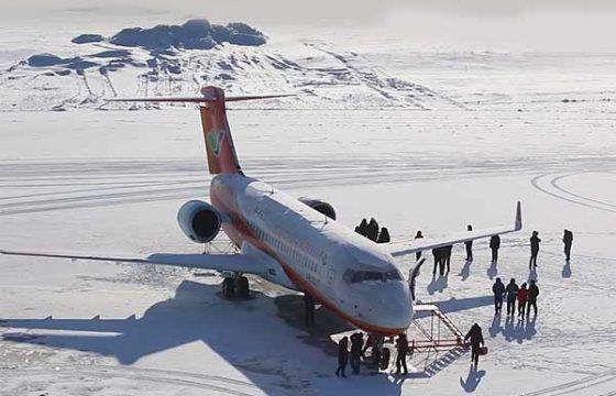 Китай начал пробную региональную эксплуатацию реактивного ARJ21-700 [видео]