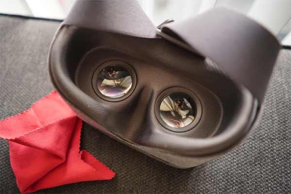 Чем и как чистить VR очки в корпусе из ткани - #VR