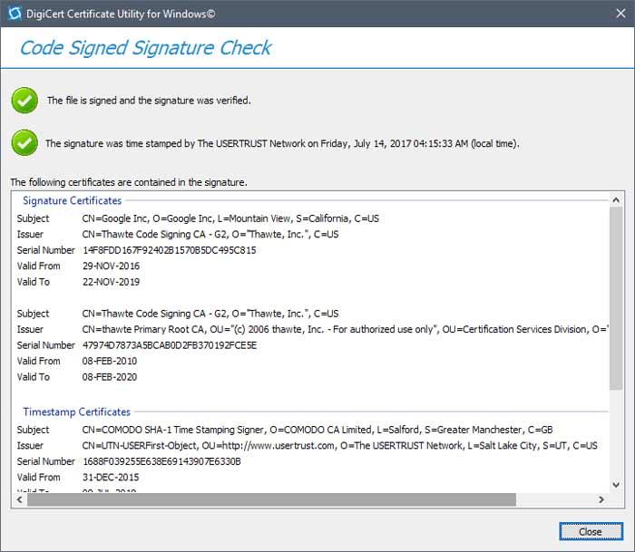 Цифровая подпись программы: чем и как её проверить в Windows 10