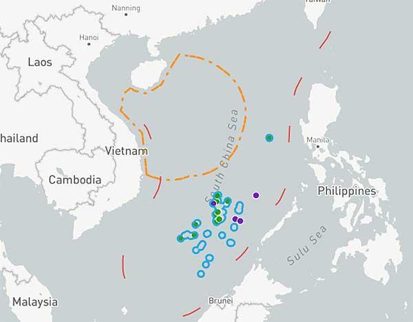 Американская АУГ познакомилась с РЭБ НОАК в Южно-Китайском море - #China