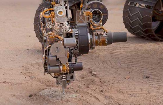 Специалисты NASA учат марсоход Curiosity бурить по-новому? [видео]