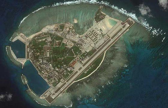 «Стратеги» H-6K ВВС НОАК выполняют полеты с островов в Южно-Китайском море [видео]
