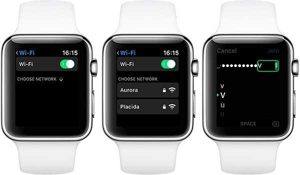 Как вручную подключить к WiFi-сети Apple Watch сwatchOS 5