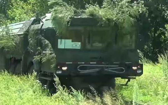 Боевые стрельбы ОТРК «Искандер» на учениях ВВО [видео]