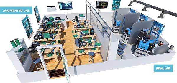 Сварочный AR-тренажер: дополненная реальность в профтехобразовании