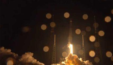 Старт Falcon 9 со спутником Telstar 18V [видео]