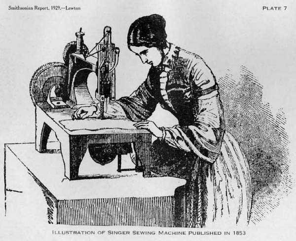 Ничто не ново: как смартфоны повторяют Войну швейных машин