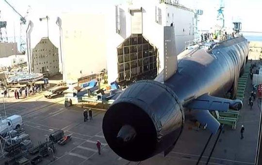 US Navy спустили на воду еще две новые АПЛ класса Virginia [видео]
