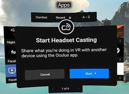 Картинка сOculus Go на экране смартфона: как настроить