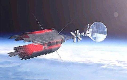 «Роскосмос» показал концепт КА с ядерной энергоустановкой [видео]