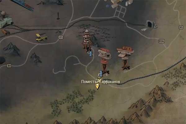 Черный титан вFallout 76: где его искать [карта]