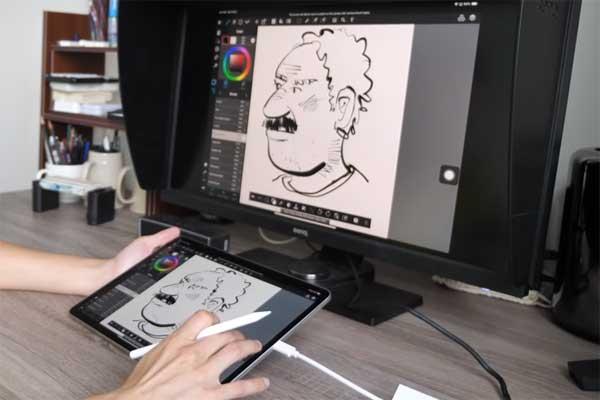 Как вывести картинку с iPad Pro 2018 на внешний монитор/телевизор?