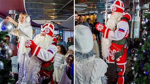 Экзоскелет - в подарок Деду Морозу [видео]