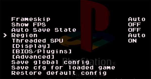 PlayStation Classic: как изменить регион в игре
