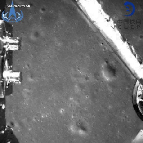 51046-Второй «Нефритовый кролик» успешно высадился на Луну [фото]