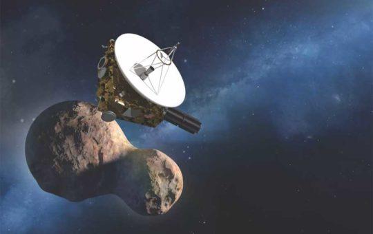 Первое видео Ультима Туле с зонда New Horizons