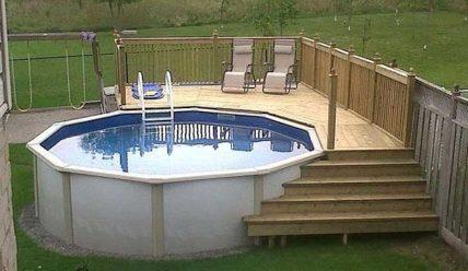 Рекомендации по углубленной установке каркасных бассейнов