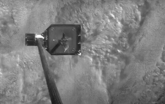 Испытание аппарата для сбора космического мусора RemoveDebris [видео]