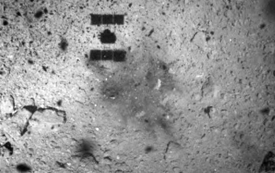 Зонд Hayabusa-2 сумел сесть на астероид Рюгу
