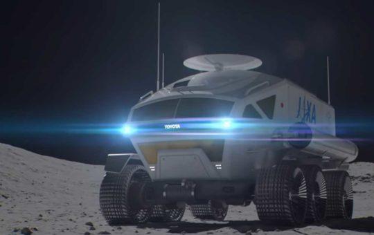 Концепт пилотируемого лунохода от JAXA и Toyota [видео]