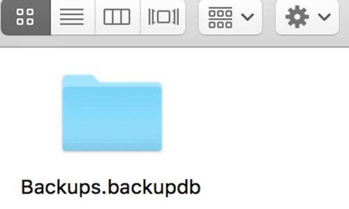 Как открыть на своем Mac-е бэкап, созданный на другом Mac-е
