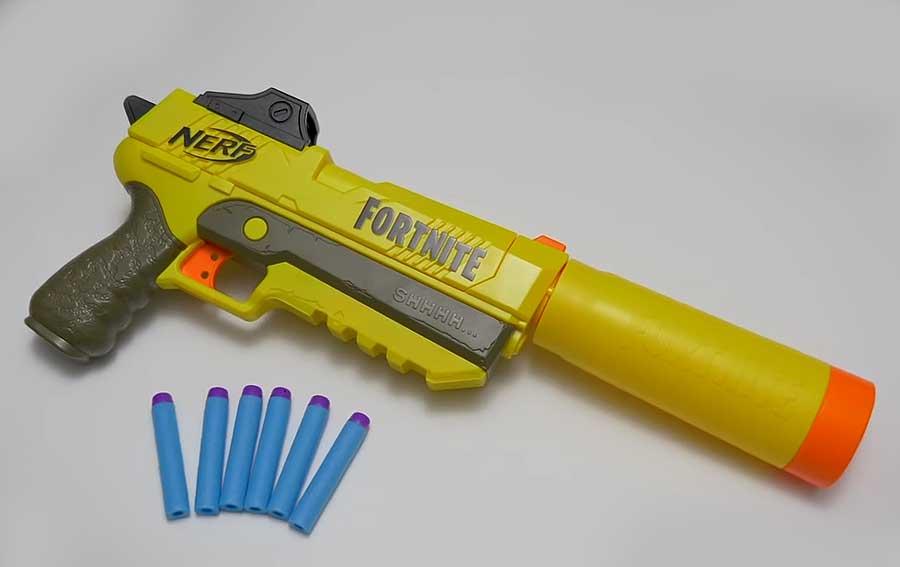 Бластеры Nerf Elite Fornite AR-L и SP-L: еще немного Fornite в реале