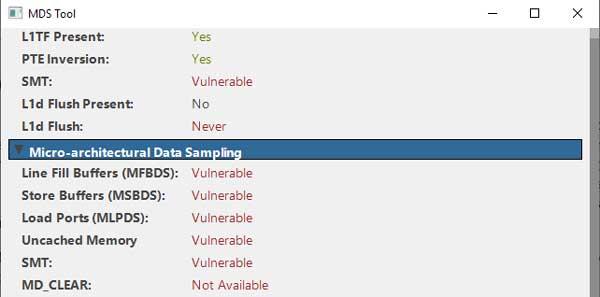 ZombieLoad / MDS: чем проверить комп на новые уязвимости?