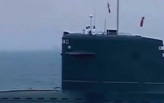 ВМС НОАК произвели запуск МБР подводного базирования [видео]