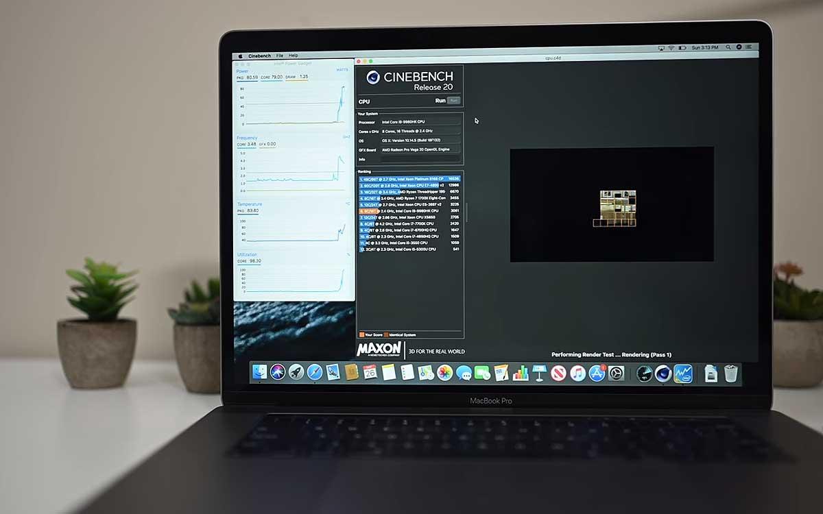 Что дают 8 ядер и оптимизация процессора новому MacBook Pro 2019: результаты тестов
