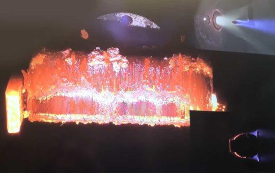 В ESA показали, как спутник горит в атмосфере Земли [видео]
