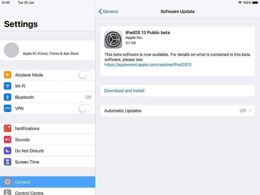 Как установить iPadOS beta на iPad безiTunes