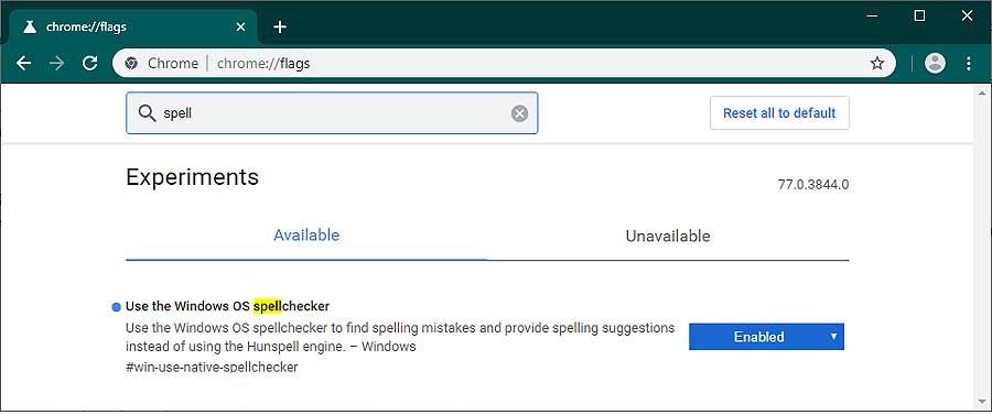 Инструмент проверки орфографии Windows в новом Edge, Chrome, Opera и пр: как включить