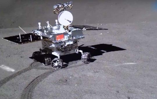 Луноход Yutu-2 успешно преодолел 270 м по обратной стороне Луны [видео]