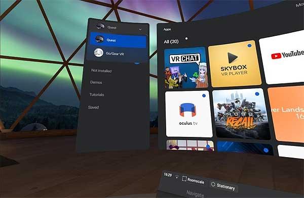 ИгрыOculus Go и Gear VR на Oculus Quest: где искать и как установить