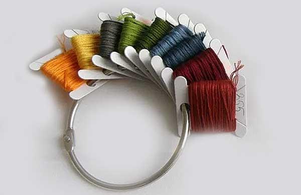 Современные наборы для вышивки: как хранить мулине в порядке