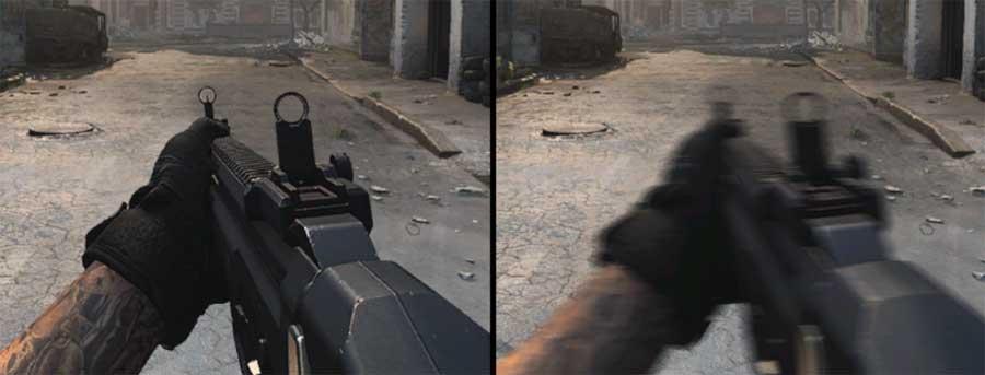 Размытие в сетевой CoD Modern Warfare: как отключить и зачем