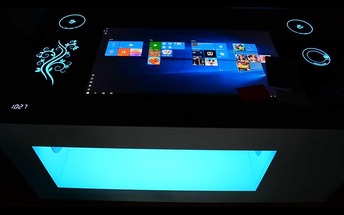 Интерактивный сенсорный стол, как современное многофункциональное устройство