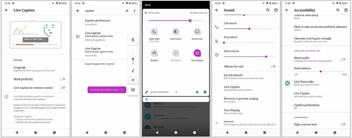 Синхронные субтитры Live Caption на смартфоне с Android 10: как настроить