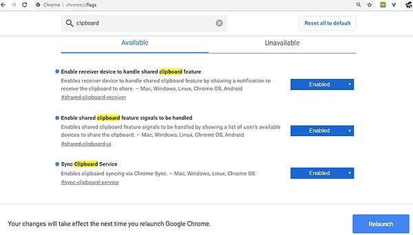 Кроссплатформенный буфер обмена в Chrome: что это, и как включить